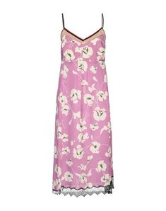 Lace Crepe Rhinestones Floral design Deep neckline Sleeveless No pockets Side closure Hook-and-bar Zip Unlined N21, Messing, Light Purple, Summer Dresses, Floral Design, Products, Fashion, Lilac, Rhinestones