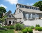 On the North Fork of Long Island, Shinn Estate Farmhouse Inn is tucked away on a peaceful vineyard. Rooms are in the estate's historic 1880s homestead, and guests get to experience life on the vineyard—and taste the final product in the winery's tasting rooms