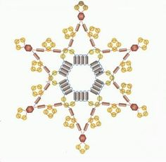 Modelos de adornos navideños con abalorios y cuentas-06