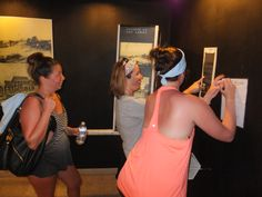 Locate hidden answers during the Museum Challenge = SUCCESS!