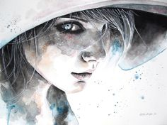 Beautiful Watercolour Illustrations by Erica Dal Maso