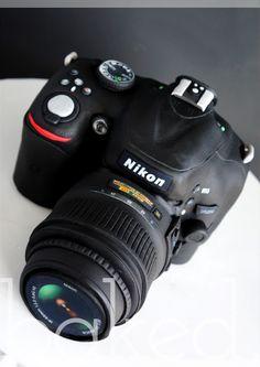 Nikon Camera Cake by Baked Cupcakery, Sunderland
