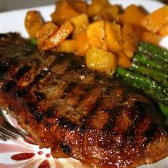 Boneless pork loin chops, marinated in a tangy sweet-and-savory marinade with a hint of spice, grill up all moist and browned for a delightful grilled supper for two. Rib Recipes, Pork Chop Recipes, Entree Recipes, Great Recipes, Cooking Recipes, Grilling Recipes, Grilled Pork Loin Chops, Boneless Pork Loin Chops, Chops Recipe