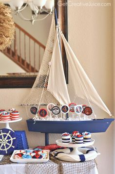 {Party} Nautical Lobster Party - Creative Juice