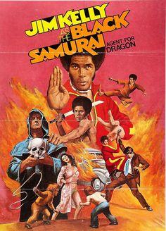 Black Samurai (1977) Stars: Jim Kelly, Bill Roy, Roberto Contreras, Biff Yeager, Charles Grant ~  Director: Al Adamson