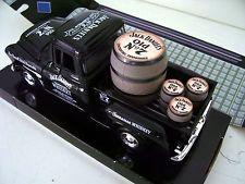 Chevy 1955 5100 desviar-se de Jack Daniels Gráficos Personalizados Preto Captador Diecast