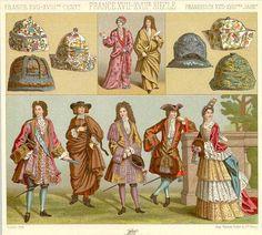 Early Eighteenth Century Fashion   Fashions of 1690-1720
