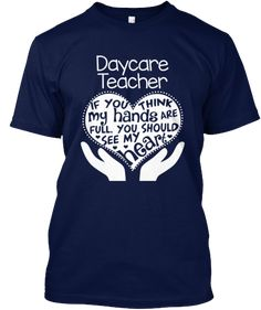 Daycare Teacher T-shirt - Full Heart | Teespring