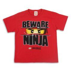 Beware Of Ninja T-Shirt now available from http://www.karatemart.com