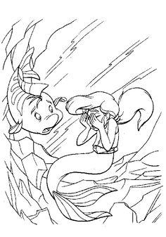 Ariel coloring pages Google sgning Maa Syrenka Kolorowanki