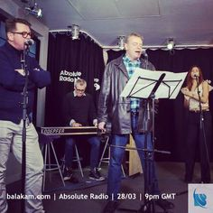 http://balakam.com/search/item?id=13424009 - this #EasterMonday you can hear Suggs, Mike and Carl from #Madness perform for you at #AbsoluteRadio! Tune in at 9pm GMT and share with your Madness-mad friends!  #music #radio #balakam #repeat