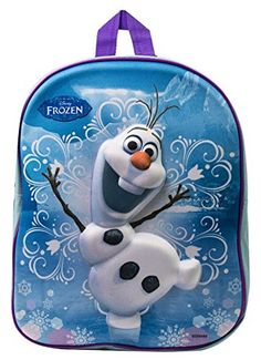 OFFICIAL DISNEY FROZEN 3D OLAF SCHOOL BACKPACK @ niftywarehouse.com #NiftyWarehouse #Nerd #Geek #Entertainment #TV #Products
