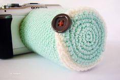ice pandora: DIY: camera lens cozy