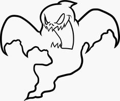 The 9 best Ghost Coloring Pages images on Pinterest | Free printable ...