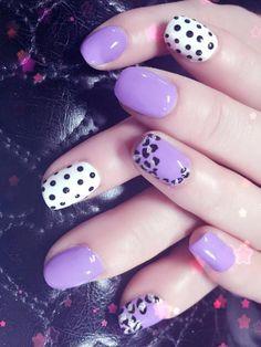 Purple accuses Fun Nails, Purple, Beauty, Beauty Illustration, Viola