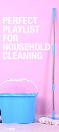 In need of a good Spring cleaning?  Use some good upbeat music to get you motivated!