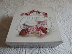 Caixa de Chá Cupcakes
