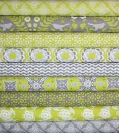 Ty Pennington Impressions Chartreuse Fabric. Wait..Ty Pennington is designing fabric?