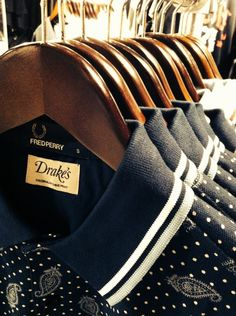 Fred Perry. Now available In Dapper Street, Witney!