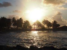 Plage de l'hôtel La Créole en Guadeloupe Caribbean, Paradise, France, Celestial, Island, Sunset, Nature, Travel, Outdoor
