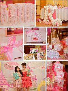 Little princess party in pink and white colors. Праздник для маленькой принцессы в розово-белой гамме День рождения принцессы от Лилу ивентс