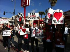 Boycott Chick Fil-A!