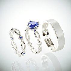 Sapphire Wedding Ring set   #WeddingandEngagement #14KWhiteGoldWeddingRingSet #bridaldiamondring #weddingringsset #HisAndHersRings #SapphireBridalRing #SapphireBridalBand #HisHerssapphire #BlueSapphire #WeddingBands #WeddingRingsSet  #WeddingBandsSet  #DiamondBridalSet #BridalDiamondRing #DiamondBridalBands #SapphireBridalSet #SapphireWedding #SapphireDiamonds #MoissaniteEngagementRing #NaturalSapphire  #WeddingRingsHisAndHers #Moissanite #WomensPrincessCutBand #EtsyJewelry #EtsyFinds #