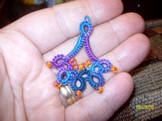 Needle Tatting Instructions | Beadweavers Beading & Tatting Adventures: Son Visiting