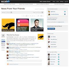 Nuzzel. Veille et alertes sur les infos qui font le buzz dans votre communauté Twitter et Facebook. #veille