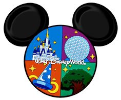 identifies all attractions in disney world and tons of disney clip rh pinterest com walt disney world clipart free disney world clipart