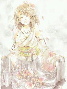 Yuna. Final Fantasy 10