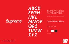 Supreme SIZED 【フォント】ストリートウェアブランドなら「Futura」を高級ブランドなら「Helvetica」を使うべきという考察