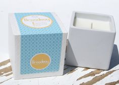 Broadway Soy Candle in Modern Ceramic Container by ViVOSpaBoutique, $28.00
