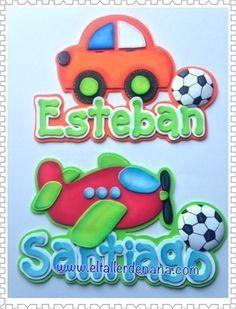 """Feliz día, aquí les muestro unos nombres para niños en foami. Tamaño de la letra 5 cms de alto. Un abrazo.   """"El Mundo es un lugar mejor cua... Foam Crafts, Diy And Crafts, Crafts For Kids, Art Lessons Elementary, Fused Glass Art, Disney Cars, Digital Stamps, Kids Decor, Kids Christmas"""