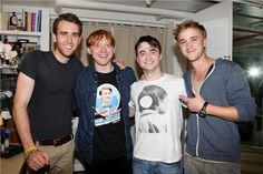 Matt, Rup, Dan, Tom