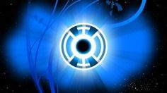 Blue Lantern Corps, Red Lantern, Color Wallpaper Iphone, Colorful Wallpaper, Dc Heroes, Blue Rings, Bmw Logo, Super, Dc Comics