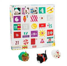 The run up to December has never been packed with more adorable plush Disney pals than with this Mini ''Tsum Tsum'' Advent Calendar. With every squeezably soft surprise, your little ones get even more excited about the big day. Christmas Countdown, My Christmas Wish List, Disney Christmas, Christmas Art, Christmas 2019, Tsum Tsum Advent Calendar, Cool Advent Calendars, Disney Up, Tsumtsum
