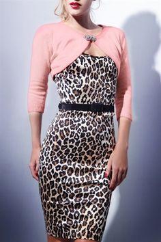 Retro style Leopard