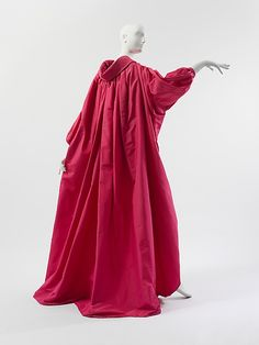 If I lived an entirely different life and was perhaps a foot taller than I am. Yces Saint Laurent CApe, Fall/Winter 1983-84, in the collection of the Metropolitan Museum of Art. (Artwork not currently on display.)