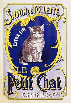 Savon de toilette le Petit Chat