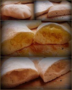 Golosando...serenamente!: Pane arabo a lievitazione naturale Pasta, Bread, Blog, Brot, Blogging, Baking, Breads, Buns, Pasta Recipes