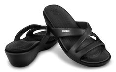 """I LIVE in these Crocs (""""Patricia"""") Sandals in the summer"""