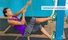 """""""I will discover new strengths."""" Click the image and share your intentions until January 28, 2013, for a chance to win an Athleta GiftCard."""