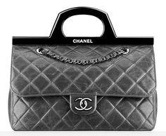 Very Yummy  | Chanel Rigid Handle Flap Bag $4100