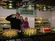 Traveling to Dublin, Ireland with a baby and toddler--Jameson Distillery