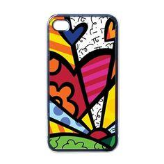 Romero Britto Iphone 4 4s Case 14.99$