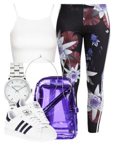 """""""7/3/16"""" by nasirkami ❤ liked on Polyvore featuring Topshop, adidas Originals, Marc by Marc Jacobs, adidas and Phyllis + Rosie"""