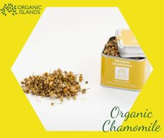 Chamomile: it is one of the oldest, most widely used medicinal plants in the world. Its medicinal usage dates back to antiquity. Its therapeutic properties were recognized by Hippocrates, Dioscorides, Galen, and Asclepius. In Greece, chamomile is still a must-have herb for every family. Order organic Greek chamomile of Organic Islands to stay healthy in winter: Cooking Herbs, Greek Dishes, Organic Herbs, Medicinal Plants, Herbal Tea, How To Stay Healthy, Dates, Islands, Herbalism