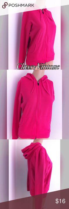Dark pink Nike sports hoody Gently worn. Nike sports hoody - zip front - dark pink. No rips tears or stains Nike Jackets & Coats