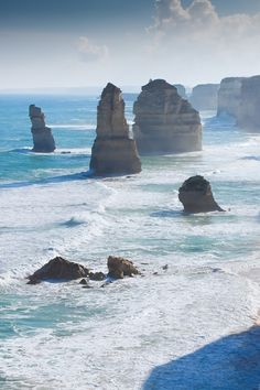 wolverxne:  The Apostles - The Great Ocean Road, Australia|